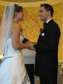 Bride and groom (kyle)