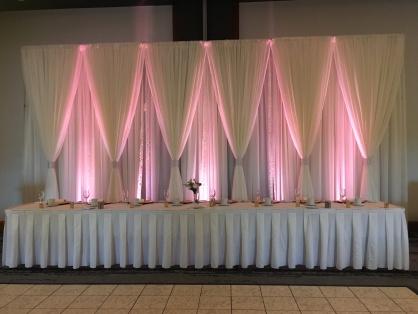 Pink Up-Lighting